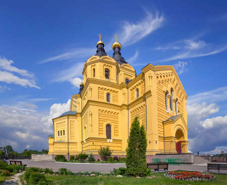 The cathedral in the name of the holy prince Alexander Nevsky.