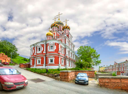Cathedral Church of the Blessed Virgin Mary. Nizhny Novgorod, Russia.