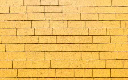 gray texture: Yellow brick stone street road