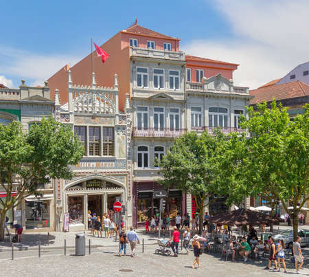 Livraria Lello bookstore in Porto. Portugal