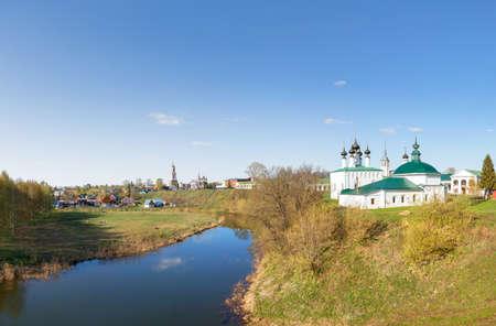 Kamenka River. Suzdal, Vladimir Region, Russia.