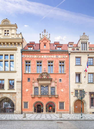 The Old Town Hall. Prague, Czhech Republic.