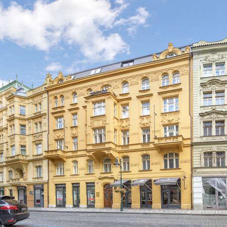 The V Kolkovne street. Prague, Czech Republic. Sajtókép