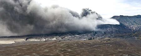 Volcanoes of Bromo National Park, Java, Indonesia  photo