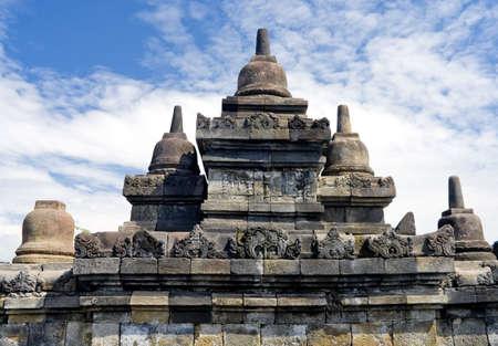 Buddhist temple Borobudur. Yogyakarta. Java, Indonesia photo