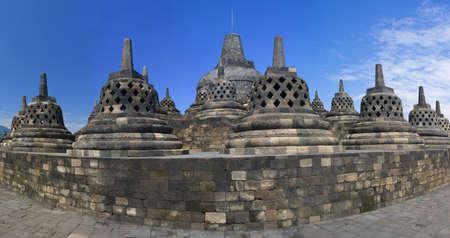 Buddist temple Borobudur. Yogyakarta. Java, Indonesia  photo