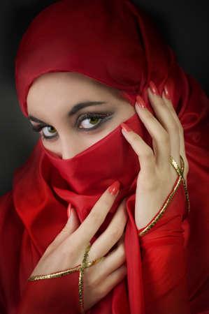Portrait of a young arabian beauty photo