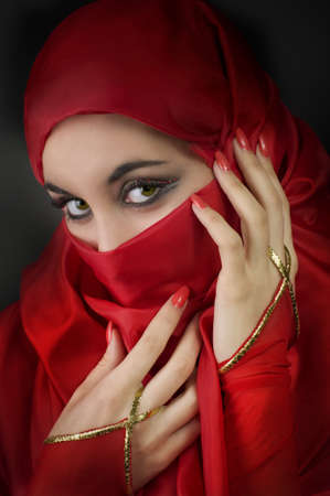 Portrait of a young arabian beauty Stock Photo
