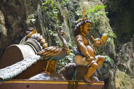 kavadi: Batu caves temple, Kuala Lumpur, Malaysia Stock Photo