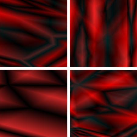 abstract dynamic red and black  backgrounds  Vector