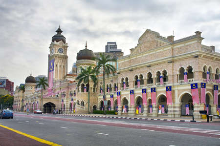 KUALA LUMPUR, MALAYSIA - AUGUST 20:  Sultan Abdul Samad Building on August 20, 2011 in Kuala Lumpur, Malaysia. The building houses the offices of the Ministry of Information, Communications and Culture of Malaysia.