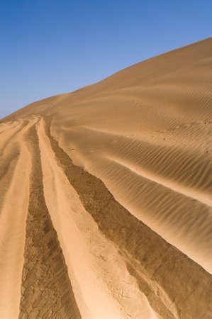 Landscape of Desert photo