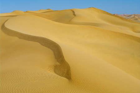 Landscape of Desert in Oman Stock Photo - 12409202