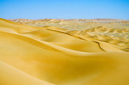 Landscape of Desert in Oman photo