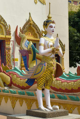 Sculpture at the Thai temple Wat Chayamangkalaram on island Penang, Malaysia  Stock Photo - 12717249