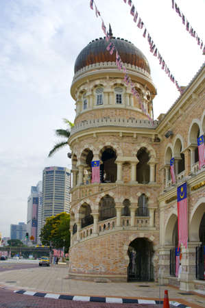 KUALA LUMPUR, MALAYSIA - AUGUST 20: Sultan Abdul Samad Building on August 20, 2011 in Kuala Lumpur, Malaysia.The building houses the offices of the Ministry of Information, Communications and Culture.