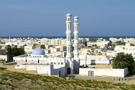 A mosque in Sur, Sultanate of Oman, Middle East