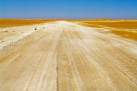 Road in Oman Desert  photo