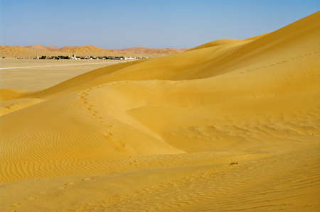 village in the desert, Oman Stock Photo - 13444081