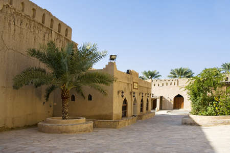 Oman: Fort of Nizwa, Oman  Middle East Stock Photo