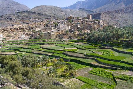 The village Bilad Sayt, sultanate Oman Stock Photo - 13444115