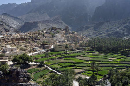 The village Bilad Sayt, sultanate Oman Stock Photo - 15286203