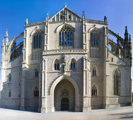 Cathedral of St  Barbara in Kutna Hora in the Czech Republic photo