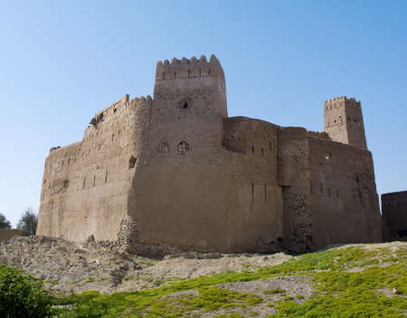 Fort Jalan Bani Bu Ali, Hammouda Al-Qala,Sultanate of Oman, Middle East Stock Photo - 16702821