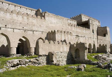 Fort Jalan Bani Bu Ali, Hammouda Al-Qala,Sultanate of Oman, Middle East Stock Photo - 16702834