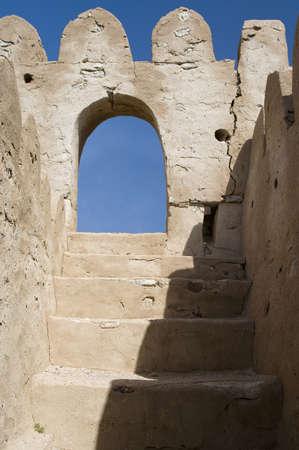 Fort Jalan Bani Bu Ali, Hammouda Al-Qala,Sultanate of Oman, Middle East Stock Photo - 16702798