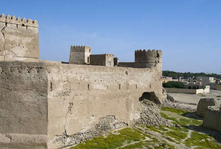 Fort Jalan Bani Bu Ali, Hammouda Al-Qala,Sultanate of Oman, Middle East Stock Photo - 16702851