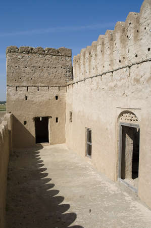 Fort Jalan Bani Bu Ali, Hammouda Al-Qala,Sultanate of Oman, Middle East Stock Photo - 16702788