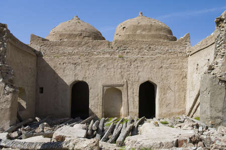 Fort Jalan Bani Bu Ali, Hammouda Al-Qala,Sultanate of Oman, Middle East Stock Photo - 16702832