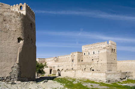 Fort Jalan Bani Bu Ali, Hammouda Al-Qala,Sultanate of Oman, Middle East Stock Photo - 16702789