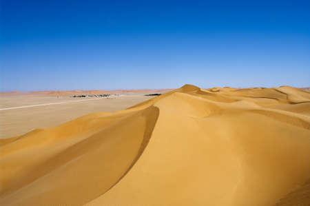 Village Al-Hashman  in the desert, Oman