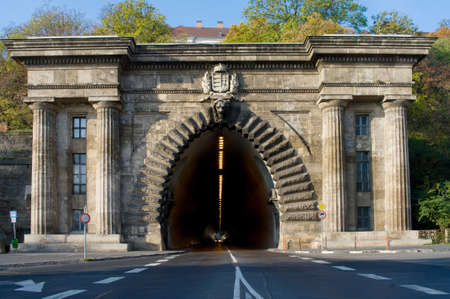 Adam Clark Tunnel in Budapest, Hungary  photo