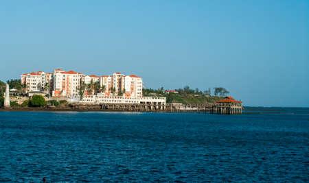 Waterfront views of Mombasa, Kenya Stockfoto