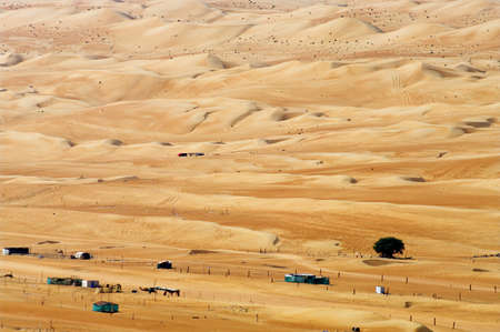 village in the desert, Oman  photo