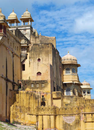 jagmandir: Amber Fort near Jaipur city in Rajasthan, India Editorial