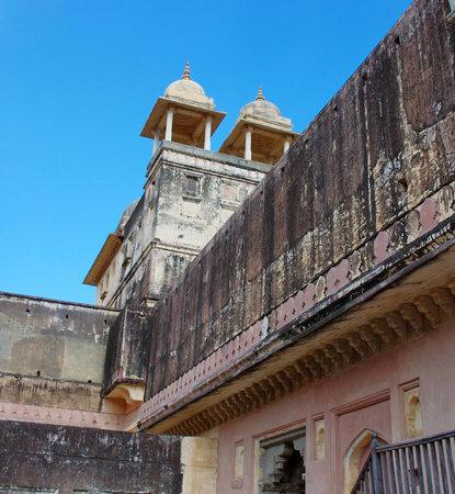jagmandir: Amber Fort near Jaipur city in Rajasthan, India