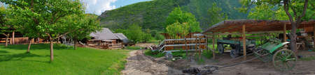 moldova: Old farm in Butuceni, Moldova