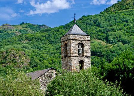 Sant Feliu de Barruera ,Barruera , Vall de Boi in Catalonia, Spain photo