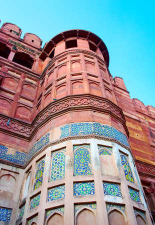Agra Fort in Uttar Pradesh, India.  (UNESCO World Heritage ) photo