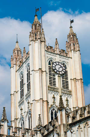 calcutta: St. Pauls Cathedral in Kolkata,  West Bengal, India