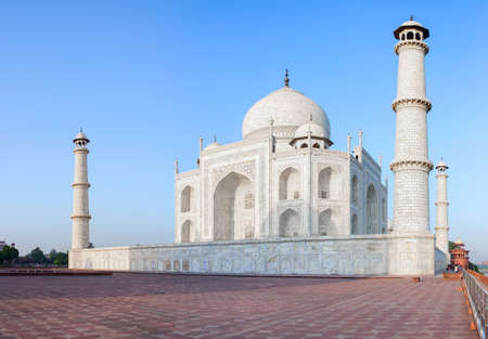 uttar: Taj Mahal in Agra, Uttar Pradesh, India Stock Photo