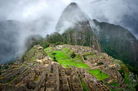 Machu Picchu au Pérou. Banque d'images - 40066117