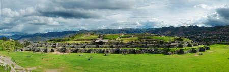 inca ruins: Sacsayhuaman, Inca ruins in Cusco, Peru