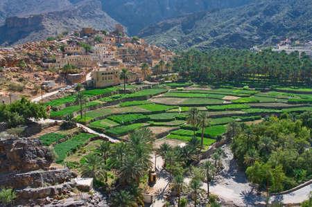 oman: The village Bilad Sayt, sultanate Oman
