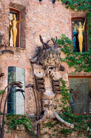 Figueres, Spagna - 26 luglio: Il Teatro Dali e Museo il 26 luglio 2014 a Figueres, Catalogna, Spagna. Il museo espone la più grande e diversificata collezione di opere di Salvador Dali.