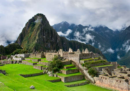 machu picchu: Machu Picchu in Peru.